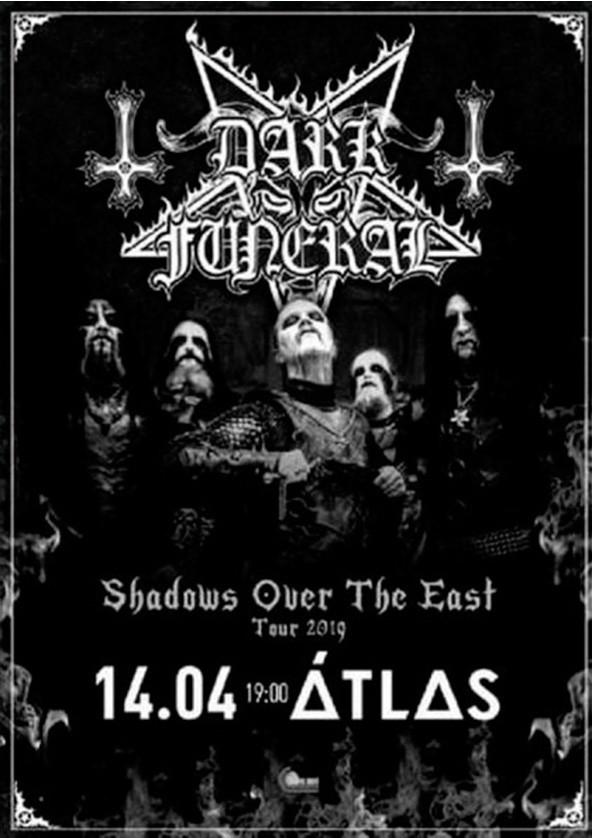 Билеты Dark Funeral