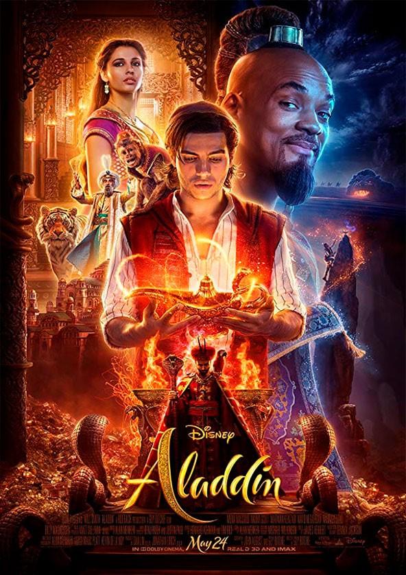 Билеты Aladdin 3D (original version)*