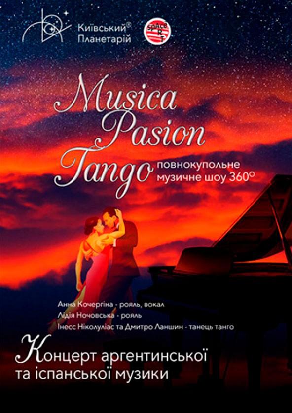 Билеты Música. Pasión. Tango