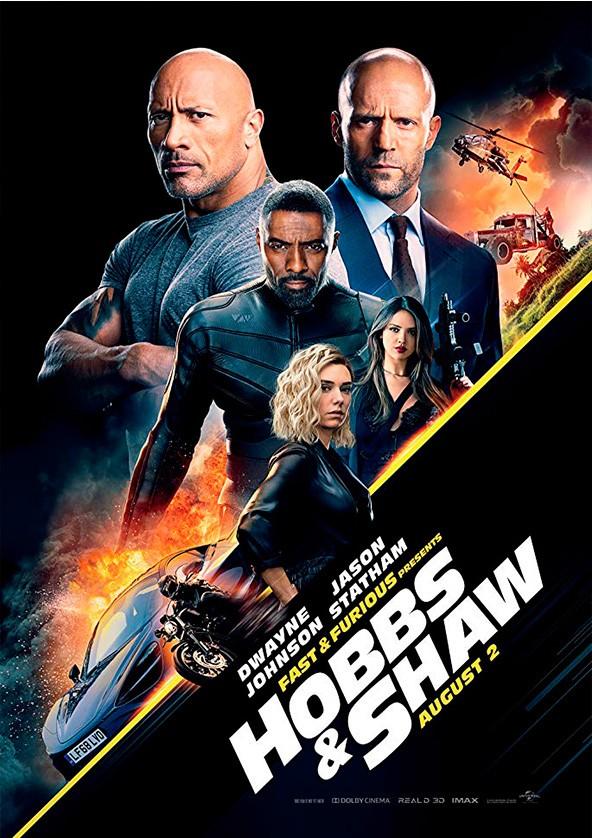 Билеты Fast & Furious Presents: Hobbs & Shaw 3D (original version)*
