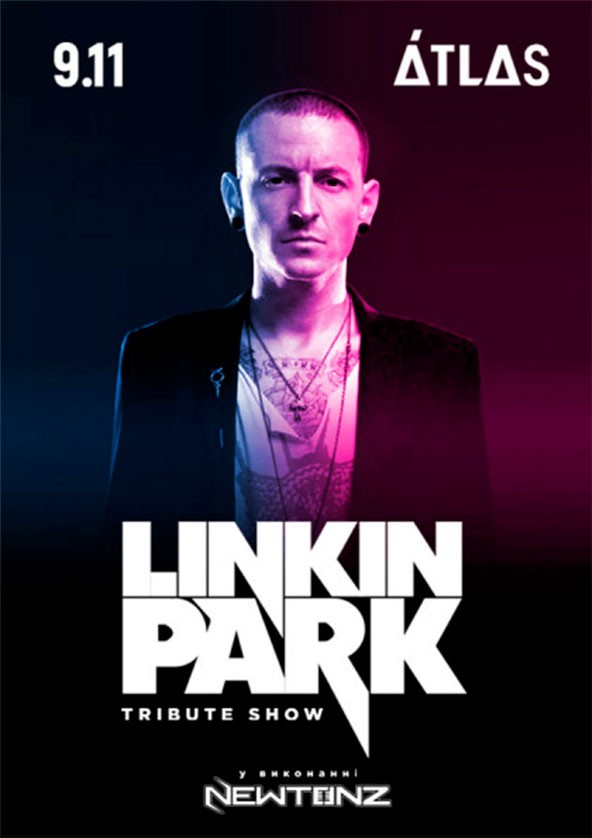 LINKIN PARK tribute show 2019 in Kyiv – buy a ticket to LINKIN PARK