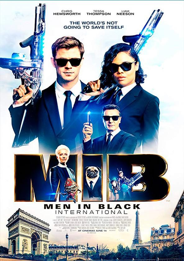 Билеты Men in Black: International 3D (original version)*