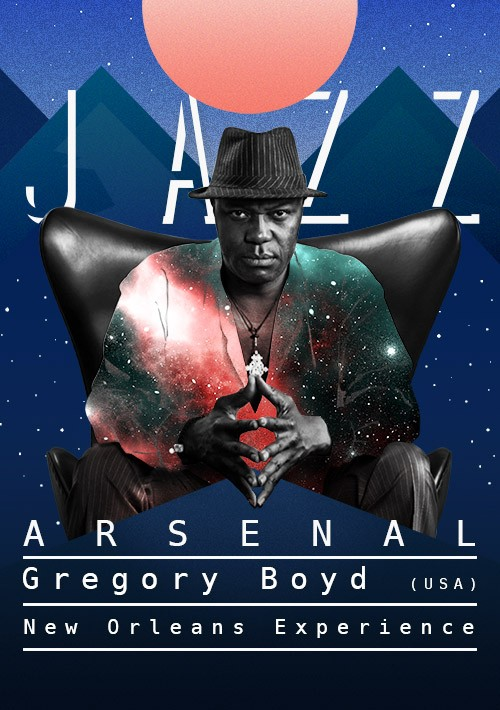 Билеты Jazz Arsenal - Gregory Boyd (USA)