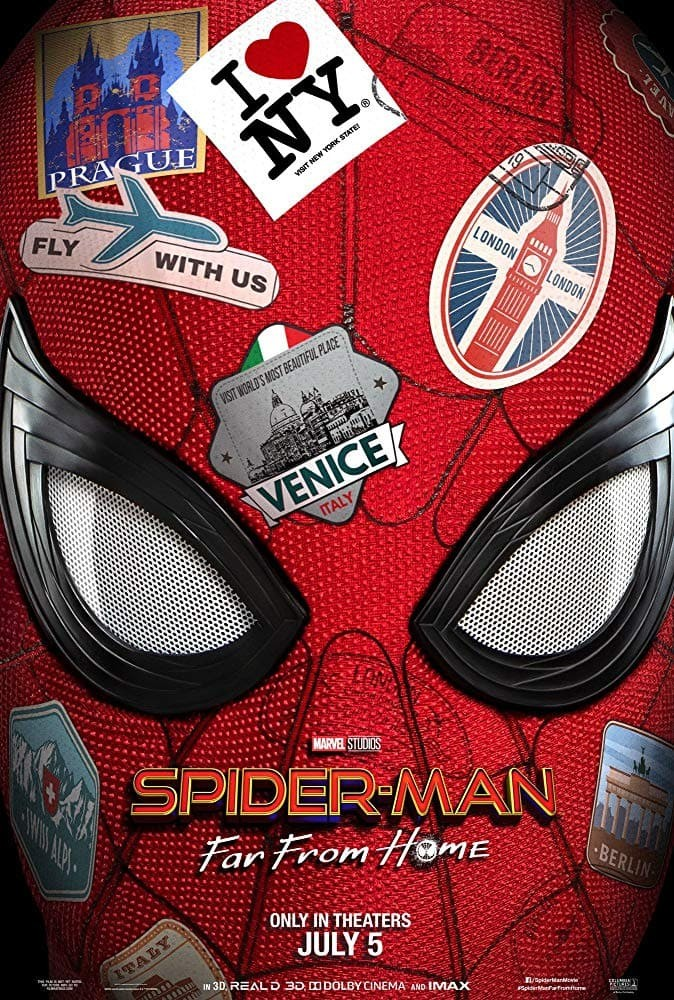 Билеты Spider-Men: Far From Home 3D (original version)*