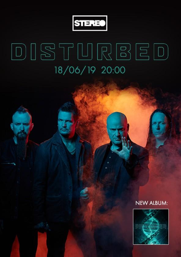 Билеты Disturbed