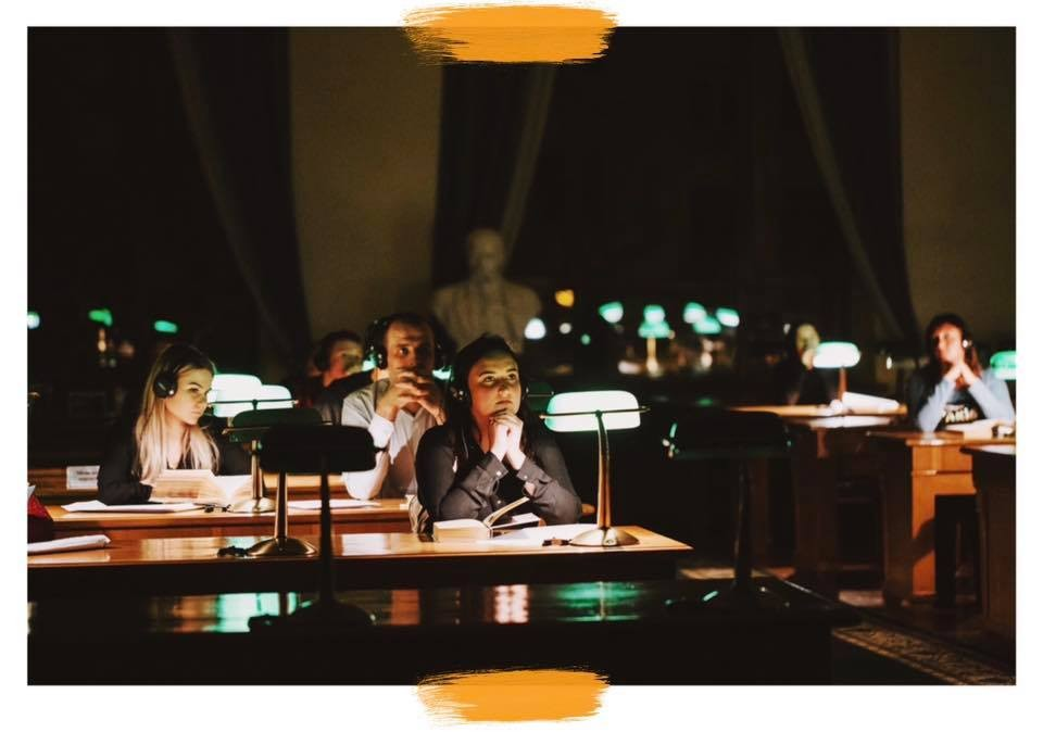 Билеты Спектакль-променад в ночной библиотеке