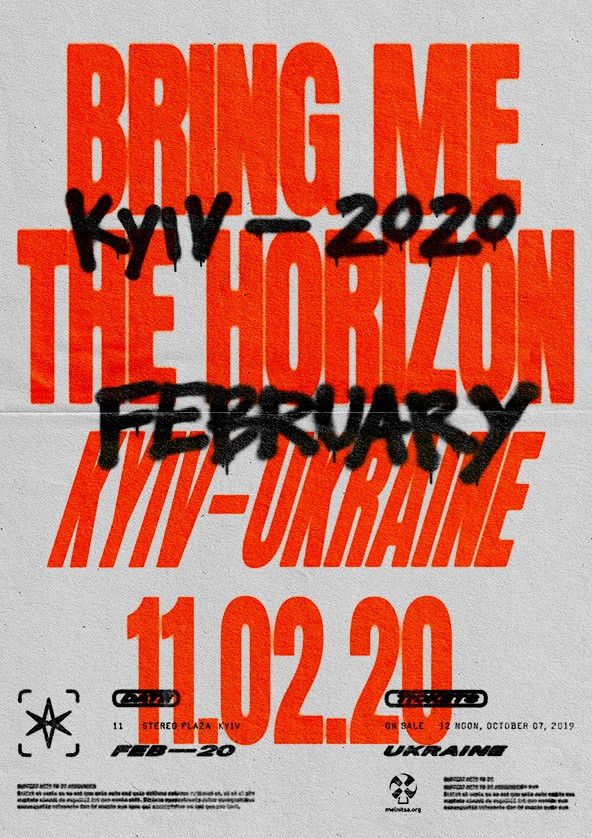 Bring Me The Horizon Tour 2020.Bring Me The Horizon 2020 In Kyiv Buy A Ticket To Bring Me The Horizon Ticketsbox